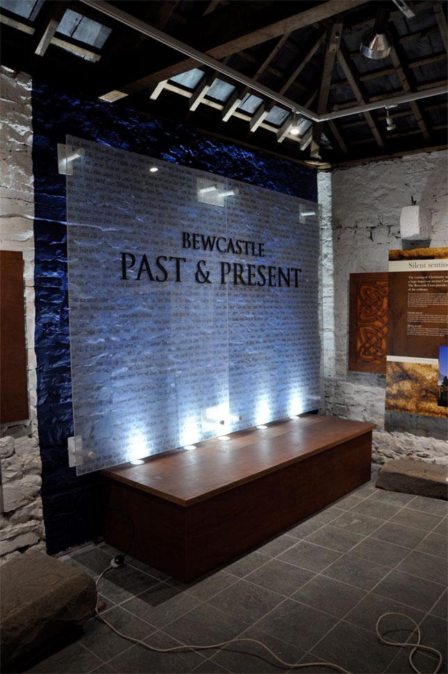 museum entrance panel